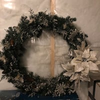 Large holiday wreath Calgary, T2X 4C6