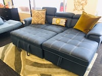 Blue Ferriday Pull Out Sofa Norfolk, 23502