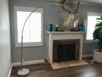 AllModern long arch floor lamp. With solid heavy marble base  Long Beach, 90807