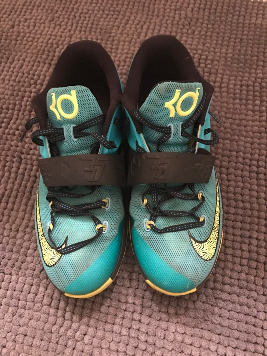 Teal nike basketball shoes - United States