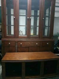brown wooden cabinet with drawer Terrebonne, J7M 1Z8