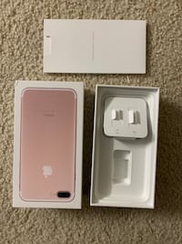 IPhone 7 Plus Box ROSE GOLD color Herndon, 20170