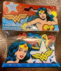 Wonder Woman Rubber Bands