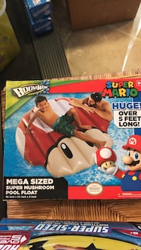 Boombow Super Mario inflatable pool float box Alexandria, 22312