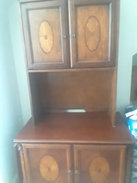 brown wooden cabinet with drawer BELTSVILLE