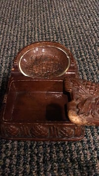 wooden  carved ashtray Ashburn, 20147