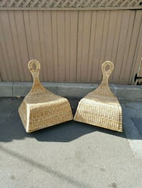 Wicker Rocking chairs .  Los Angeles, 90068