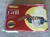 Premium Grill Table top gas grill box Menands, 12204