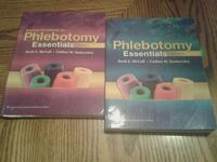 phlebotomy essentials textbook $5 for both books. Collierville