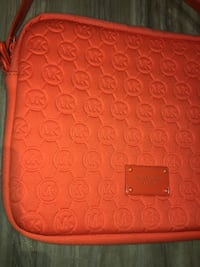 MK-authentic popping colour bag/Ipad carrier like NEW!medium size,used it as a purse super soft and lightweight