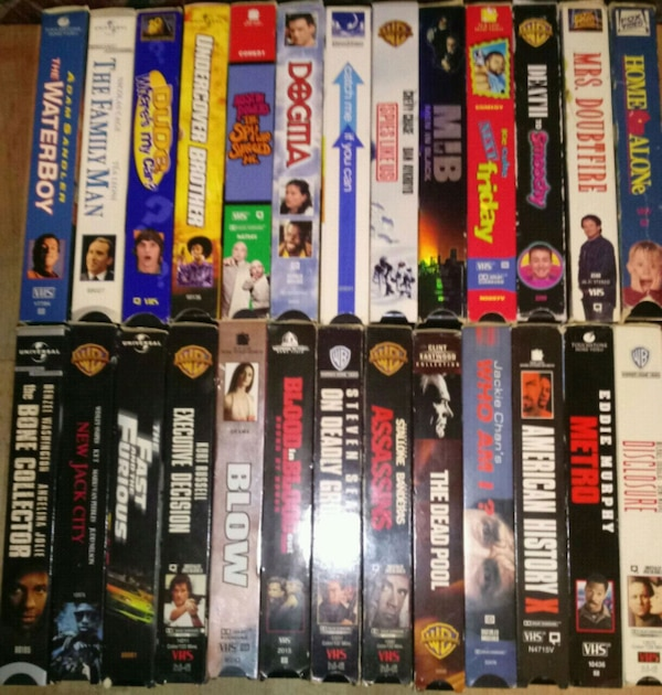 Where Can I Sell My Vhs Tapes >> Vhs Tapes 84 Total