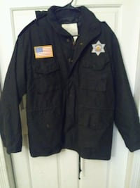 Black Security Thermo Med jacket 1489 mi