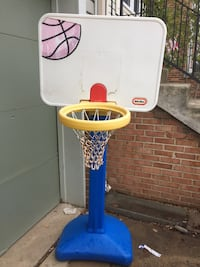 Little Tikes basketball hoop adjustable 4' to 6' tall Sterling, 20164