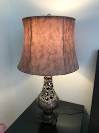 2 table lamps Fremont, 94536