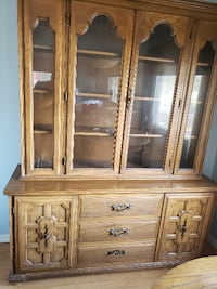 China cabinet goes w/ dining room table. 3737 km