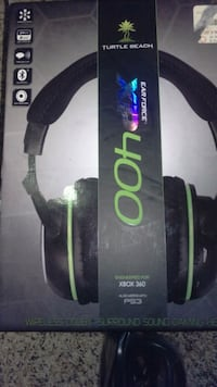 black and green corded headphones Green Bay, 54303