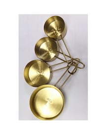 Measuring Cup Set Gold - Threshold - Brand New