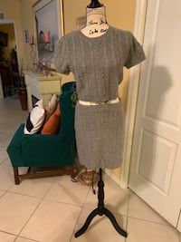 High waisted top with skirt Fort Myers, 33919