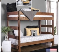 New bunk bed (no mattress ) Victorville, 92395