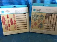 Martha Stewart's Small Party crafting template. To make spirals & snowflakes. $15  Plus Martha Stewart's Small party crafting template. To make swirls & Lanterns. $15 or $25 for both sets. New In Box. West Jordan
