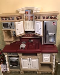 Brown and gray kitchen playset Clinton, 20735