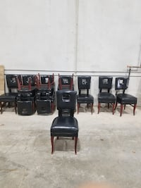 Leather Dining Chairs MALTON