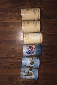6 collector Tim Hortons Tin canisters