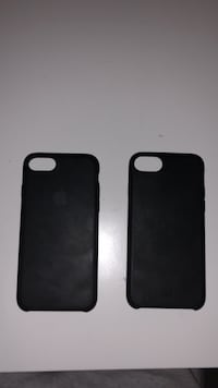 Two black iphone 6s cases