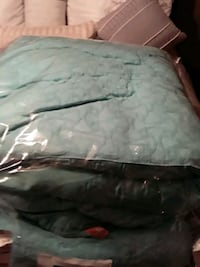 Comforter set for king size bed with pillow covers and Sham