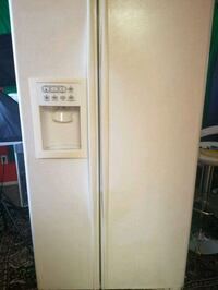 white side-by-side refrigerator with dispenser Fort Myers, 33901