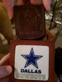 Dallas Cowboys watch box and holder Frederick, 21702