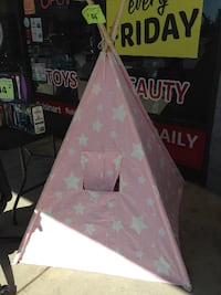 New Kid Teepee Kid Light Up Tent( Pink and Navy are available ) Hawaiian Gardens
