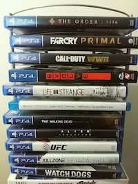 Ps4 games .. different prices depending on game Dartmouth, B2Y 3N4