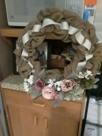 white and brown floral wreath Norwalk, 90650