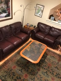 Couch and Loveseat (leather) Brielle, 08730
