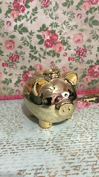 Gold Piggy Bank Surrey, V3S 5L5