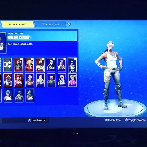 Fortnite Recon Expert Account For Sell Offers Welcomed