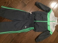 Black and green nike track pants Whitby, L1P