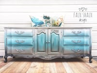 Antique french provincial buffet Panama City Beach, 32413