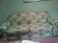 white and pink floral fabric 3-seat sofa Great Falls, 59404