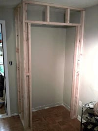 New drywall new closet doors installed painting new extension  Sterling
