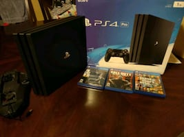 PS4 pro 3 games