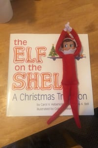 The Elf the Shelf (Book and Doll) Worcester, 01609
