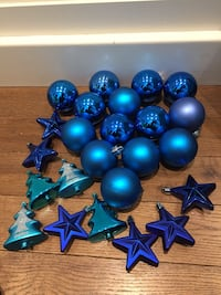 Christmas tree shatterproof ornaments