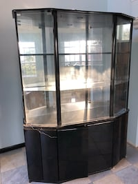 black and white display cabinet Bolingbrook, 60440