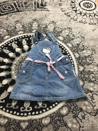 Grå denim Hello Kitty totalt