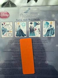Cinderella wall decals  Richmond, 23226