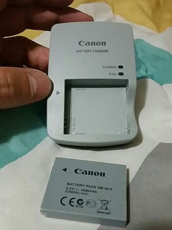 Canon battery charger & battery