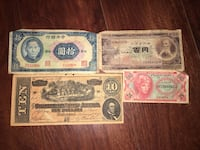 Vintage Foreign Confederate China Money Currency Old Rare  Manassas, 20112