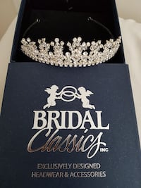 women's silver-colored Bridal Classics tiara with  Caledon, L0J